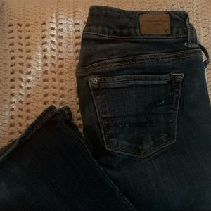 American Eagle Sequined Jeans